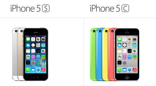 iPhone5SとiPhone5C