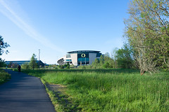 Autzen on a Sunny Day (jacob_bieker) Tags: wideangle eugene f28 uofo sunnyday autzen 14mm rokinon canon50d