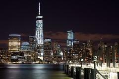 World Trade Center (PS37Blue) Tags: nyc newyorkcity ny newjersey jerseycity downtown manhattan worldtradecenter wtc gs downtownnewyork downtownnyc goldmansachs ferrystop downtownnewyorkcity