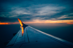 Sunset over Norway (Federico Ravassard) Tags: sunset art norway canon airplane flying air 14 sigma 35 6d