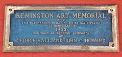 Ogdensburg New York ~ Remington Art Memorial  ~ HIstorical  House