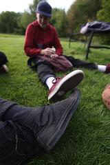 Chuck Taylors (joe_barton17) Tags: grass canon photography leicester tokina converse cons chucktaylors allstars chucktaylor leicestercity westernpark 50d canoneos50d canon50d 1116mm tokina1116mm westernparkleicester