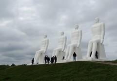 Men at Sea (Jaedde & Sis) Tags: mennesketvedhavet firehvidemænd menatsea sculpture art white four herowinner challengegamewinner ultrahero challengeyouwinner