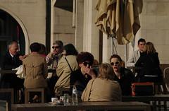 Sweet Brussels (Natali Antonovich) Tags: friends brussels portrait sunglasses cafe belgium belgique belgie talk relaxation terras sweetbrussels