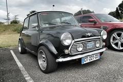 Mini Cooper (xwattez) Tags: auto old france car automobile parking mini voiture cooper british transports ancienne 2015 vhicule rassemblement anglaise launaguet simplymarket