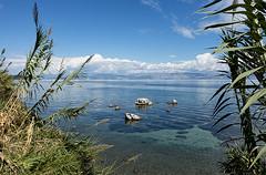 Ionian rocks & sea (ORIONSM) Tags: ionian rocks sea view coastal island greece corfu benitses sony rx100mk3