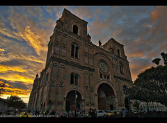 Cuenca Cathedral (Sam Antonio Photography) Tags: cuenca ecuador sunset travel cathedral church southamerica samantoniophotography sky holiday vacation prayer faith