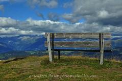 a view from the top (friedrichfrank1966) Tags: mountain gipfel bank bergblick clouds heaven himmel wolken montagne altoadige sdtirol trekking tour wandern plose gabler aussicht berge