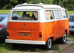 NYS 813P (2) (Nivek.Old.Gold) Tags: 1976 volkswagen devon camper 1584cc latebay