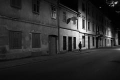 noir city (i k o) Tags: filmnoir night mood city urban bw silhouette hat solitude blackandwhite