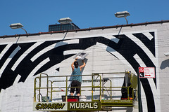 Sonos (Always Hand Paint) Tags: b207 sonos sonosprogress kristamlindahl ooh outdoor colossalmedia alwayshandpaint skyhighmurals advertising colossal handpaint mural muraladvertisingstreetlevel retail