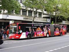Aachen (Germany) (streamer020nl) Tags: aachen aken aixlachapelle germany deutschland 2016 190916 mercedes bus schloemer aseag peterstrasse thelen automaten 21 spiel mega fun waldfriedhof