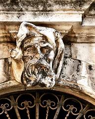 Face of stone - Pula Old Town, Croatia. (Sez_D) Tags: croatia pula istria architecture kentscape carving stonework