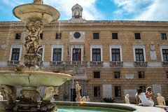 DSC_076 (Mjooolka) Tags: palermo sicily italy city architecture landscape theater massimo buildings column people september autumn sky clouds cloudy colorful lights windows cityscape water fountain flags darkness shadows morning wanderlust art statue dome south southernitaly