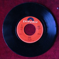 The Jam - Start! (A Vinyline) Tags: paulweller thejam start lizaradley 1980 aug1980 vinylcollection vinyl collection recordcollection records record singles 45rpm polydor mod music
