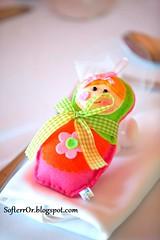 SofterrOFelt Russian Dolls - Matryoshka Dolls ~    r06 (SofterrOrFlora) Tags: feltro felt handmade russian dolls    softerror