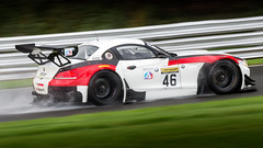Dunlop Production & GT Championship racing (Chris O'Brien Photography) Tags: gt spaf70300f456divcusd tamron oultonpark canon eos5dmarkiii uk racing 5dmk3 5d3 motorracing motorsport track rain wet motion speed bmw z4 bmwz4 weather car cars sport