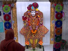 Ghanshyam Maharaj Shringar Darshan on Wed 02 Nov 2016 (bhujmandir) Tags: ghanshyam maharaj swaminarayan dev hari bhagvan bhagwan bhuj mandir temple daily darshan swami narayan shringar