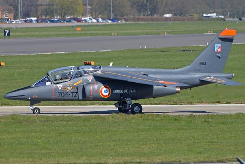 Dassault Alpha Jet E 'E83 / 705-TZ'