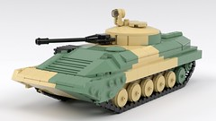 BMP-2 Revisited (ABS doohickies) Tags: lego bmp2 render military ifv dc6 tank