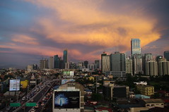 Sunset, Manila, Phlippines (ARNAUD_Z_VOYAGE) Tags: islands island phlippines landscape boat sea southeast asia city people volcano amazing asian moutains sunset street action jeepney car province manila building intramuros municipality capital trafic jam
