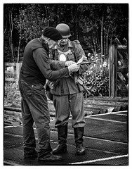 Papers Papers (david.ireland) Tags: war weekend germans train station ss le visham levisham pickering