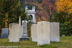 Church & Cemetery - Stark, New Hampshire (IanLyons) Tags: architecturebuildingsfeatures usa religiousbuildingsandfeatures stark concepts church northamerica scenic newhampshire colourful tranquilscene fall cemetery fallcolours