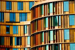 Gold (RosLol) Tags: copenhagen denmark roslol danimarca architecture architettura building windows finestre copenaghen københavn vesterbrogade axeltowers axeltorvsquare