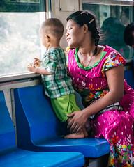 Yangon Circle Train, Myanmar (shimonkey) Tags: burma circletrain myanmar yangon culture locallife people burmese