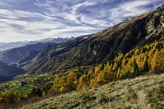 (robbar74) Tags: valledaosta autunno colori natura landscape nature cielo nuvole italia