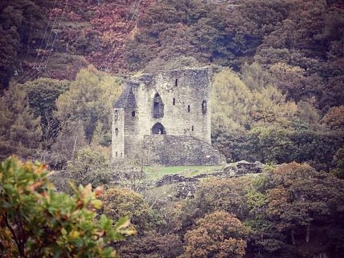 Dolbadarn castle.