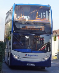 Pontefract (Andrew Stopford) Tags: yn59eam adl trident enviro400 stagecoach pontefract
