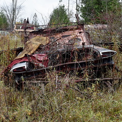 DSC_0149 v2 (collations) Tags: ontario mcleansautowreckers autowreckers wreckers automobiles autos abandoned rockwood derelict junkyards autograveyards carcemeteries