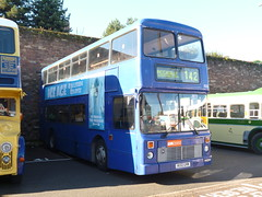 Preserved GM Buses 2032 (H132GVM) 02102016 (Rossendalian2013) Tags: preserved bus gmbuses gmbusessouth stagecoachmanchester magicbus dennis dominator northerncounties h132gvm birkenhead