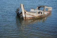 Mar cheia (Salete G) Tags: saleteg mar cheia barco gua mar esturio