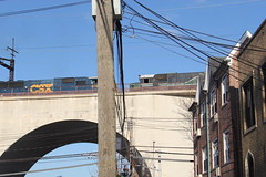 IMG_1610 (GojiMet86) Tags: csx nya conrail atlantic nyc new york city railroad train 1976 1992 gp382 sd60m 268 5520 8765 nycr connecting viaduct astoria