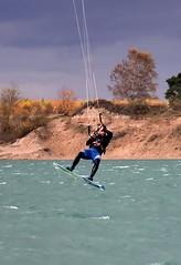 Kitesurfing (Celimaniac) Tags: kitesurfing drachensurfen surfen surfing watersports epplesee 181116 sports nikond4s
