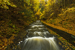 And I trade everything for this (Matt Champlin) Tags: water waterblur waterfall nature landscape fall autumn peace peaceful canon 2016 walk walking hike hiking friday tgif fillmoreglen trapt thesewalls moravia cny
