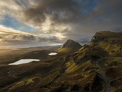 Quiraing Ecosse (EtienneR68) Tags: d810 montagne quiraing sunset eau ecosse lac landscape mountain nature nikon paysage scotland scottish water