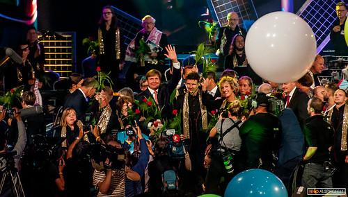 Koning Willem Alexander - 50 jaar Jostiband