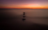 Madeira Sunset (Darren LoPrinzi) Tags: 5d canon5d fl canon florida miii madeirabeach sunset beach ocean gulf gulfofmexico sea water sun orange longexposure simple simplicity serene minimal minimalism clouds peaceful