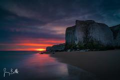 Sunrise, Botany Bay (thesharkhunter) Tags: botanybay broadstairs dawn sunrise seascape seaside landscape kent england sea cliffs sun gregbottle sonya7rii