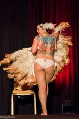 0E3A8546 (EddyG9) Tags: thebiggateauxshow gateaux burlesque dancer pasties lingerie costume sexy butt booty boobs hot people performer indoor music cocktails women topless neworleans louisiana 2016