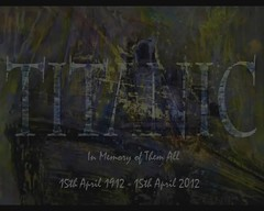 RMS Titanic Centenary ~ April 15th 2012 ~ By Sophie Shapiro (Sophie Shapiro) Tags: titanic idastraus sophieshapiro psychicartist psychicworld 100anniversaryoftitanicsinking rmstitaniccentenary 101yearstitanicsinking rmstitaniccentenary~april15th2012~bysophieshapiro
