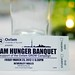 Hunger Banquet at University of Toronto March 23 2012: Ticket - U of T