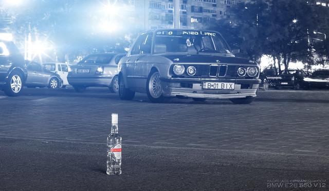 auto old car canon shark bmw vodka v12 550 e28 ciprianmihai