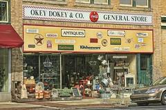 THE OKEY DOKEY GENERAL STORE (NC Cigany) Tags: street usa signs colors store nc salisbury cocacola generalstore 7362 okeydokey colorbricks