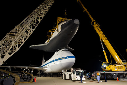 Shuttle Enterprise Mating To SCA (201204200005HQ)