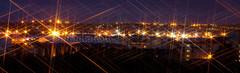 Starry Aberdeen (DUM4S5) Tags: reflection beach night canon eos star coast scotland long exposure aberdeen filter 1000d