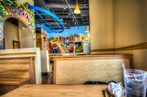 Dunn Loring - Lost Dog Cafe in HDR